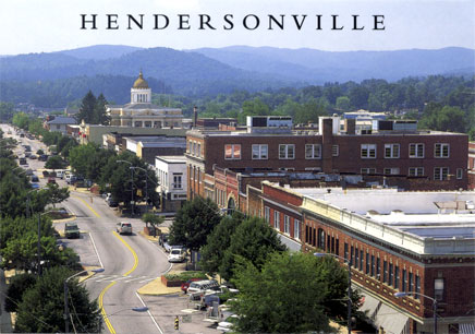 Downtown Hendersonville, North Carolina